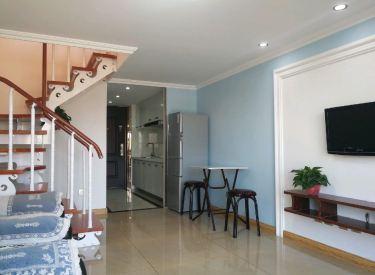 二环内 翰林世家Loft复式公寓 精装两室 家电齐全含宽带