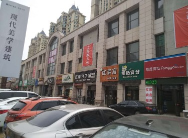 (出兑)浑南东湖版块 恒大江湾对街精装修门市