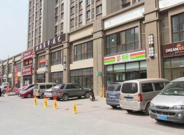 (出售)皇姑区 怒江北街 万科门市 举架高大开间2100平两层大门市