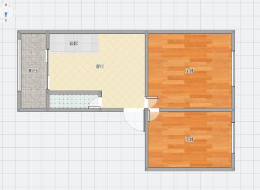 图们社区 2室 1厅 1卫 60㎡