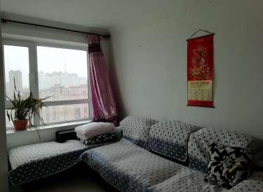 电梯房一居卧室客厅分开 华邑世纪城 精装拎包住家电家具全