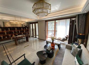 诺德阅香湖 精装豪宅 客厅7米开间 中式轻奢风格