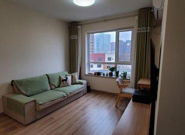 万科明天广场 一室 精装修 独立卧室 拎包入住次新
