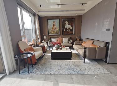 汇置尚岛别墅!地铁入园 实得400平 地下室 蒲河景观豪宅!